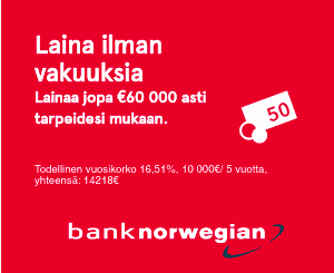Bank Norwegian laina